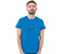 Herren Redwood T-Shirt Blau