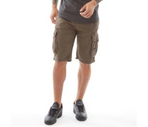 Chaseforth Combat Cargo Shorts Dunkel