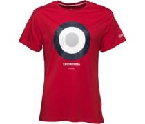 Lambretta Mens Target T-Shirt Red