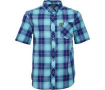 Lyle And Scott Jungen Present Hemd mit kurzem Arm Blau