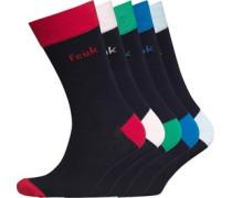 Herren Five Socken Blau