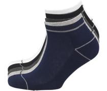 Herren Fricker 5 Packung Trainer Socken Grau