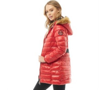 Everest Padded Puffajacke Rot