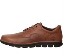 Herren Bradstreet Oxford Schuhe Rot-Braun
