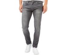 Herren Deadly 03 Skinny Jeans Grau