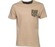 Herren Mexico T-Shirt Hellbraun