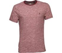 Original Penguin Mens Slub T-Shirt Pomegranate
