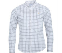 Mens Barcombe Slim L/S Shirt Ecru