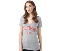 Damen Cali Sport T-Shirt Sports Marl/Retro Red