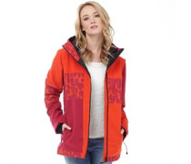 Bench Womens Baddah Jacket Orange