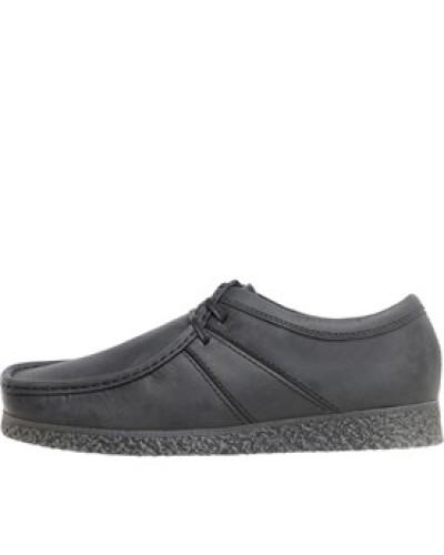 Base London Herren Mens Legacy Shoes Pull Up Black