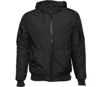 Herren Plutonium Harrington Jacke Black
