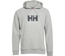 Helly Hansen Herren HH Logo Kapuzentop Grau