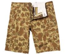 Carhartt Herren Johnson Camo Outdoor Mill Shorts Khaki