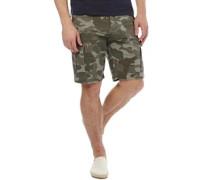 Herren Loke Cargo Shorts Olive Camo