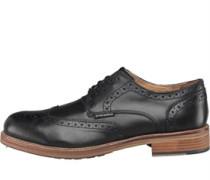 Ben Sherman Mens Patrick Brogue Shoes Black