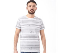 Herren Acquire T-Shirt Weiß