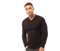 Quazar wear Pullover mit V-Ausschnitt