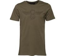 Herren Cabrillo T-Shirt Khaki