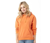 Damen Clarence Kapuzentop Orange