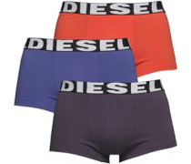 Mens Shawn Three Pack Boxers Multi