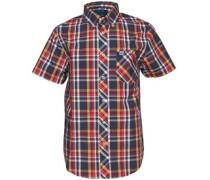 Henleys Herren Hemd mit langem Arm Mehrfarbig