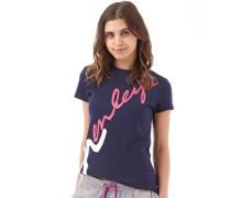 Henleys Damen Holyoke Pea T-Shirt Blau