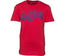 Jungen Print T-Shirt Rot