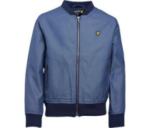 Lyle And Scott Jungen Chamy Harrington Jacke Blau