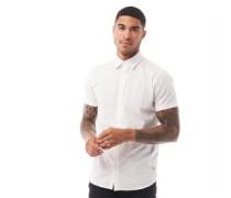 Clint Plain Hemd mit kurzem Arm