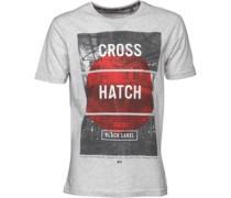 Herren Hotspot T-Shirt Hellgraumeliert
