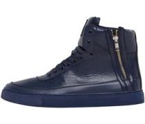 Criminal Damage Herren Python Mid Sneakers Navy