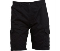 Duck and Cover Herren Cusack Cargo Shorts Schwarz