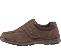 Herren Velcro Schuhe Braun