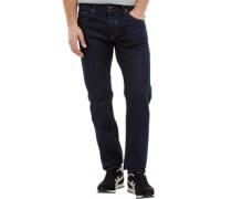 Herren Boxren Jeans mit geradem Bein Indigo