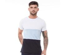 Block 3 T-Shirt Weiß