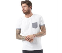 Herren Pyram T-Shirt Weiß