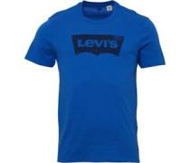 Levi's Herren Housemark Graphic T-Shirt Blau