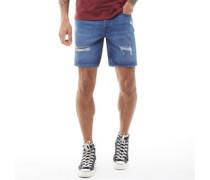 Rick Original AKM 724 Denim Shorts Stonewash
