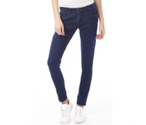adidas Neo Damen Super Skinny Jeans Dunkelblau