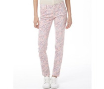 Damen Jeans in Slim Passform Rosa