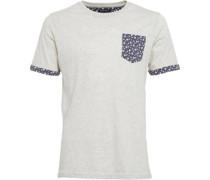 Herren T-Shirt Ecru
