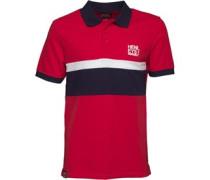 Herren Dissemble Polohemd Rot