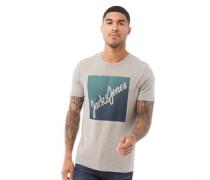 Flaky T-Shirt Graumeliert