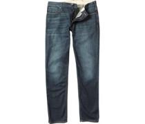 Herren J06 Jeans in Slim Passform Verblasstes Dunkelblau