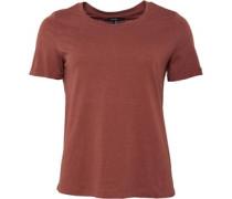 Henirebecca T-Shirt Dunkelorange