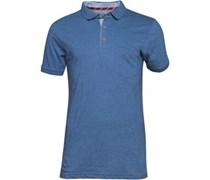 Herren Julius Vintage Polohemd Blau