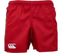 Canterbury Mens Advantage Poly Twill Rugby Short Red