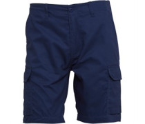 Duck and Cover Herren Cusack Cargo Shorts Blau