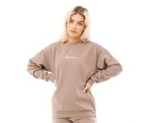 Oliva Sweatshirt Sandfarbe